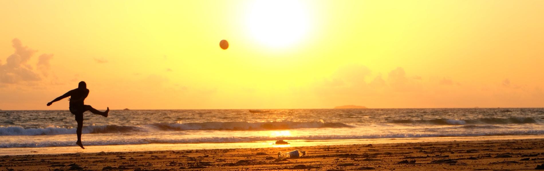 Beach football